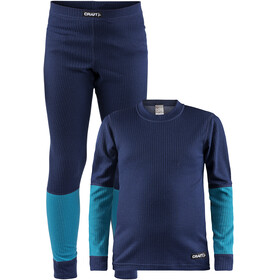 Craft Baselayer Set Junior maritime/zen